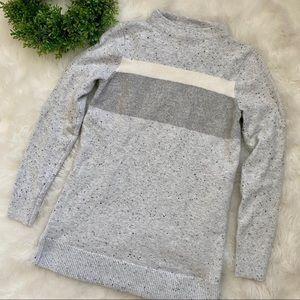 Loft Gray Long Sweater